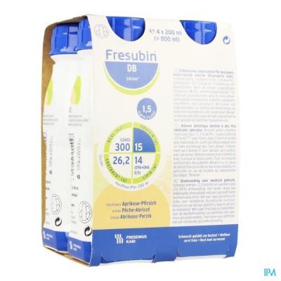 Fresubin Db Drink 200ml Pêcheabricot/abrikoosperzik