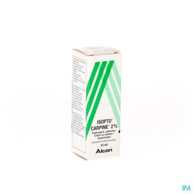 Pilocarpine-isopto 2 % Collyre 15ml