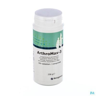 Arthromax 3 Pot Tabl 180 4345 Metagenics