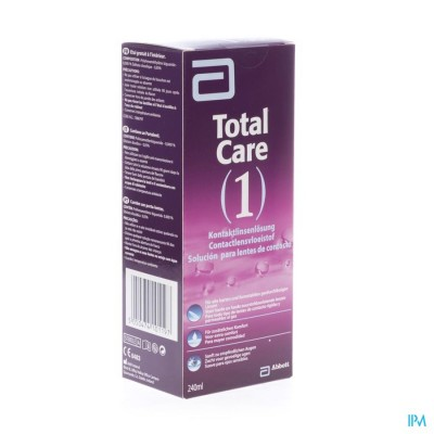 Total Care 1 All-in-one Harde Lens 240ml+lenscase