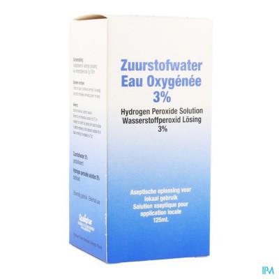 Zuurstofwater 3% Qualiphar 125ml