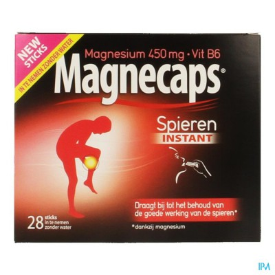 Magnecaps Spierkrampen Sticks 28