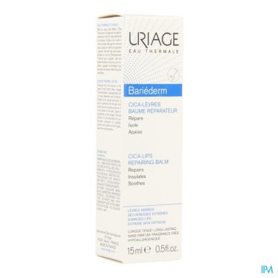 Uriage Bariederm Lippenbalsem Tube 15ml