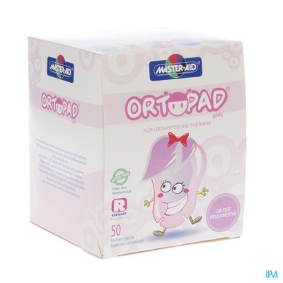 Ortopad Regular For Girls Oogpleister 50 73224