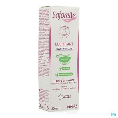 Saforelle Glijmiddel Pompfl 30ml