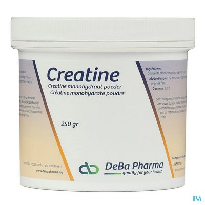 Creatine Monohydraat Pdr Oplosbaar 250g Deba