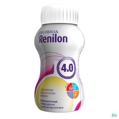 Renilon 4.0 Abrikoos Fles 4x125ml 570978