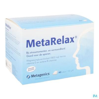 Metarelax Nf Zakje 40 21862 Metagenics