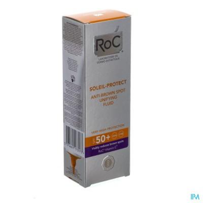Roc Soleil-protect Fluid Bruine Vlek. Ip50+ 50ml