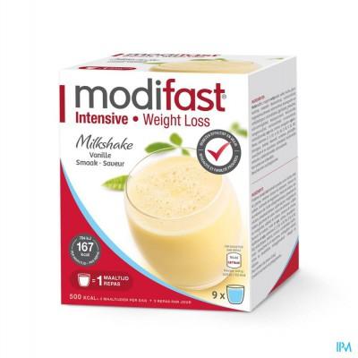 Modifast Milkshake Vanille Sach 9