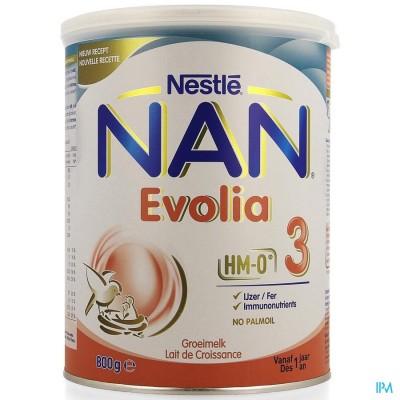 NAN Evolia 3 Groeimelk 800g