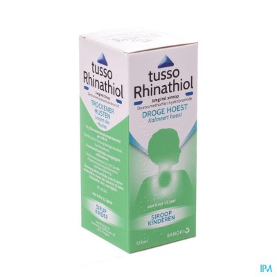 Tusso Rhinathiol 0,1% Sir Inf 125ml