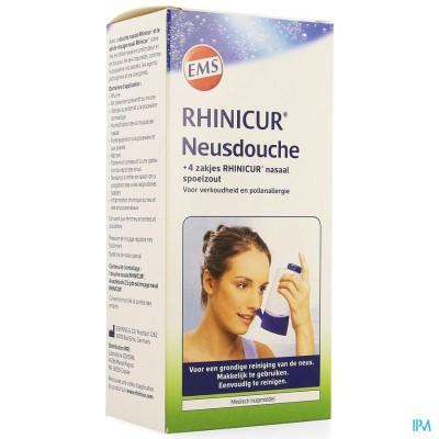 Rhinicur Douche Nasale + 4 Zakjes Spoelzout