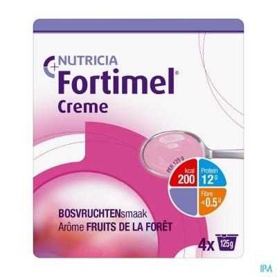 Fortimel Creme Bosvruchten 4x125g