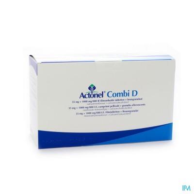 Actonel Combi D Comp 12 X 35mg + 72 Zakje Bruis2,5