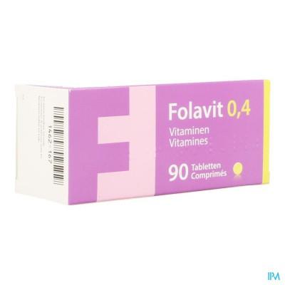 Folavit 0,4mg Tabl 90 X 0,4mg