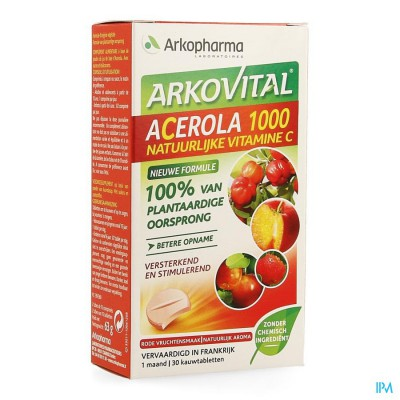 Acerola 1000 Tube Comp 2x15