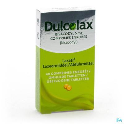 Dulcolax Bisacodyl Drag 40x 5mg