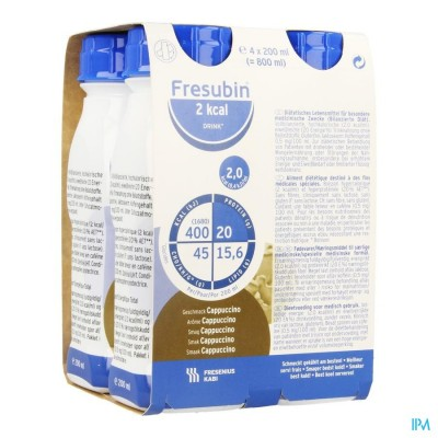 Fresubin 2 Kcal Drink 200ml Cappuccino