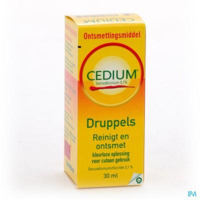 Cedium Benzalkonium Sol. 30ml