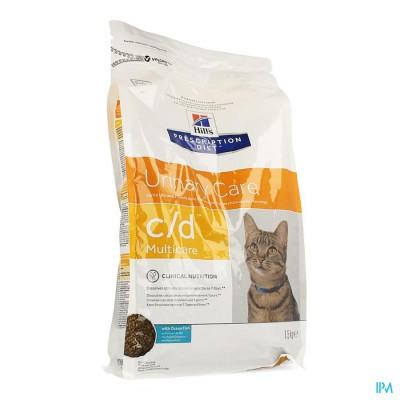 Hills Prescrip.diet Feline Cd Oc.fish 1,5kg 6068m