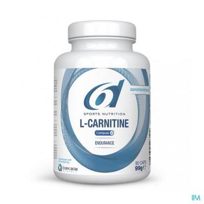 6d Sixd l-carnitine Carnipure Caps 80