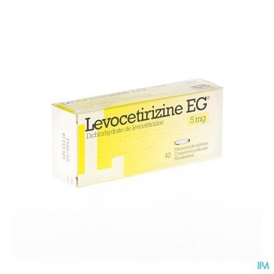 Levocetirizine Eg 5mg Filmomh Tabl 40