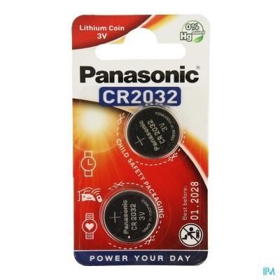 Panasonic Batterij Cr2032 3v 2