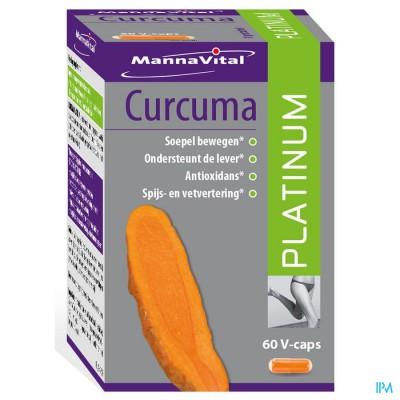 Mannavital Curcuma Platinum V-caps 60
