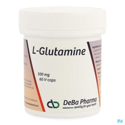 l-glutamine Caps 60x500mg Deba