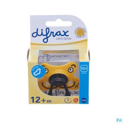 Difrax Fopspeen Dental Semi Filled +12m 346
