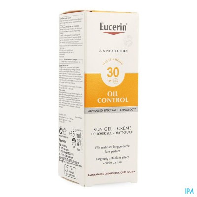 Eucerin Sun Oil Control Dry Touch Ip30 50ml