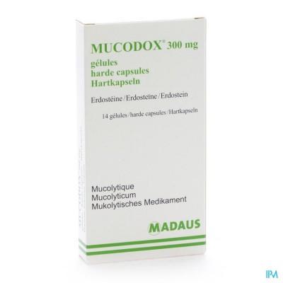 Mucodox 300mg Caps 14