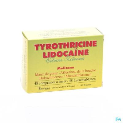 Tyrothricine Lidoca Citroen Comp 48