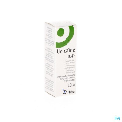 Unicaine Collyre 0,4 % - 10ml