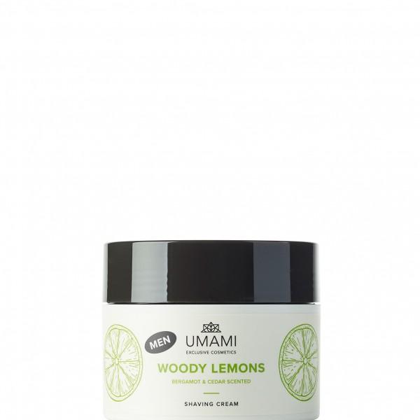 Umami Woody Lemons Bergamot&ceder Men Shav.cr250ml