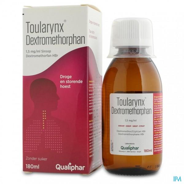 Toularynx Dextromethorphan 180 ml siroop
