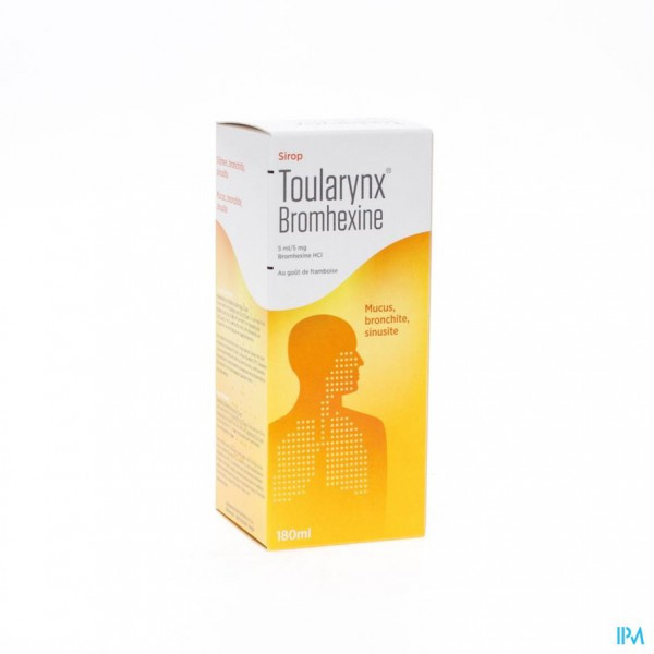 Toularynx Bromhexine Sir 180ml