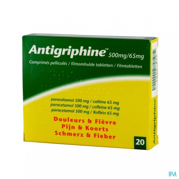 Antigriphine Comp 20 X 500mg