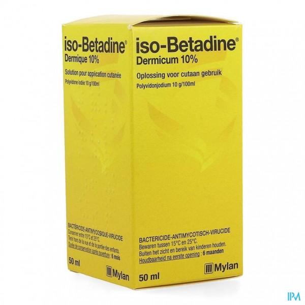Iso Betadine Dermicum 10% Opl Fl 50ml