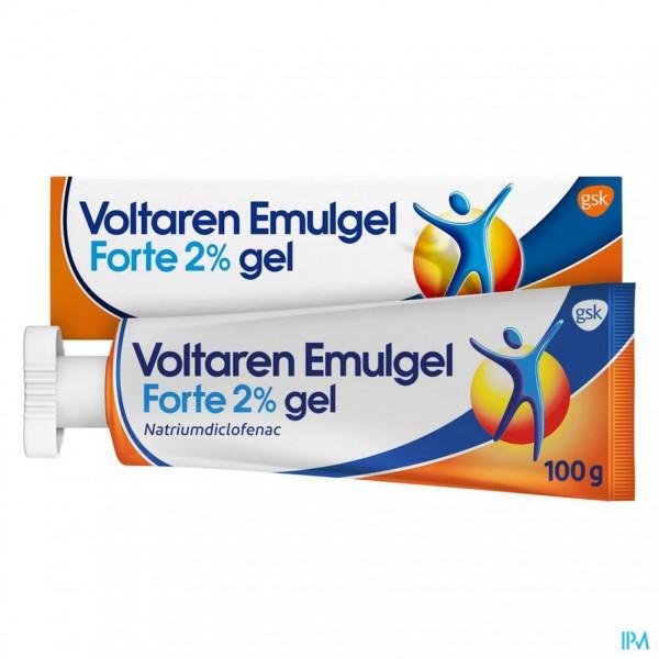 Voltaren Emulgel Forte 2 % Gel 100g