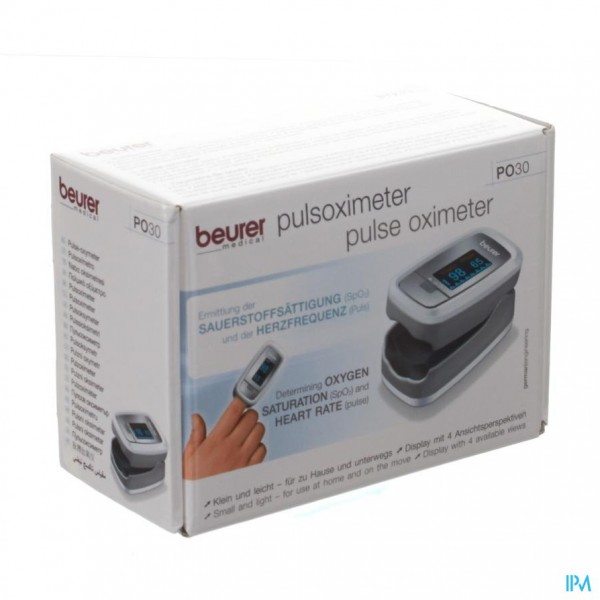 Beurer Zuurstofsaturatiemeter Po30