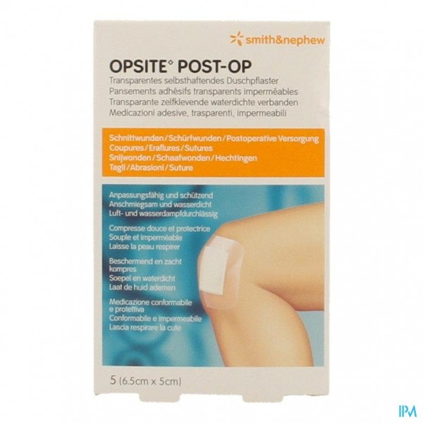 Opsite Post Op N 6,5cmx 5,0cm 5 66030313
