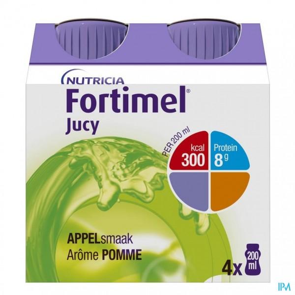 Fortimel Jucy Appel Cluster 4x200ml 65445