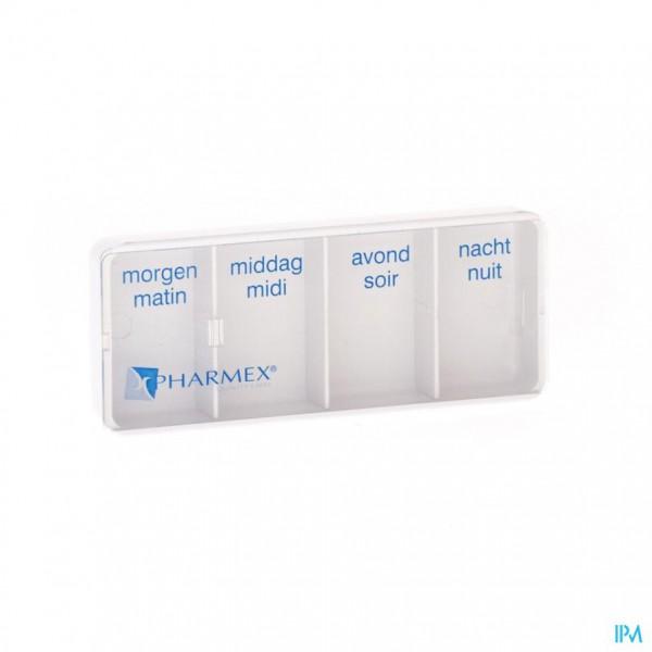 Pharmex Day Pill Box 4 Vakken