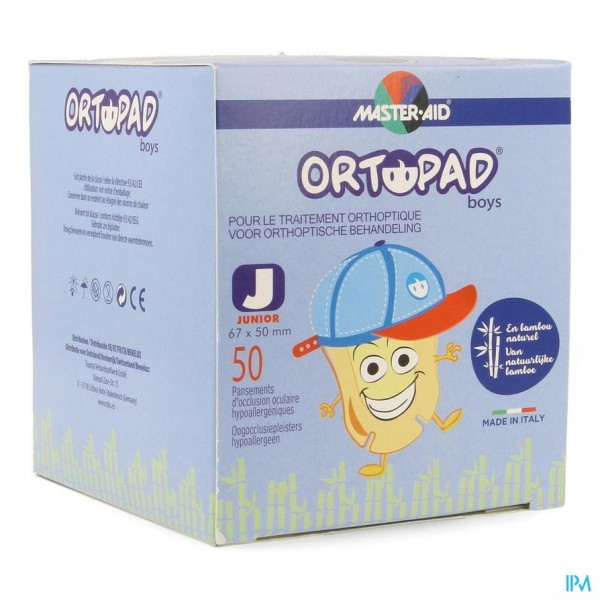 Ortopad Junior For Boys Oogpleister 50 73321