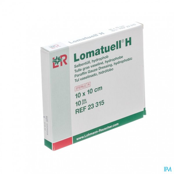 Lomatuell H Kompres Ster 10x10cm 10 23315