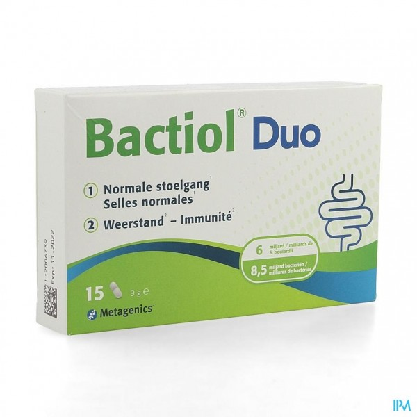 Bactiol Duo Caps 15 27907 Metagenics
