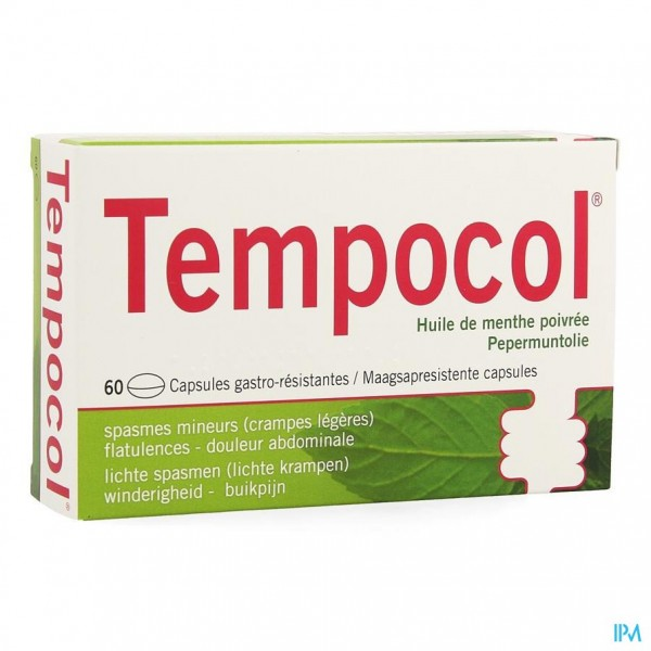 Tempocol Caps 60 X 182mg