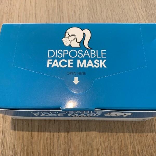 Chirurgische mondmaskers 50st